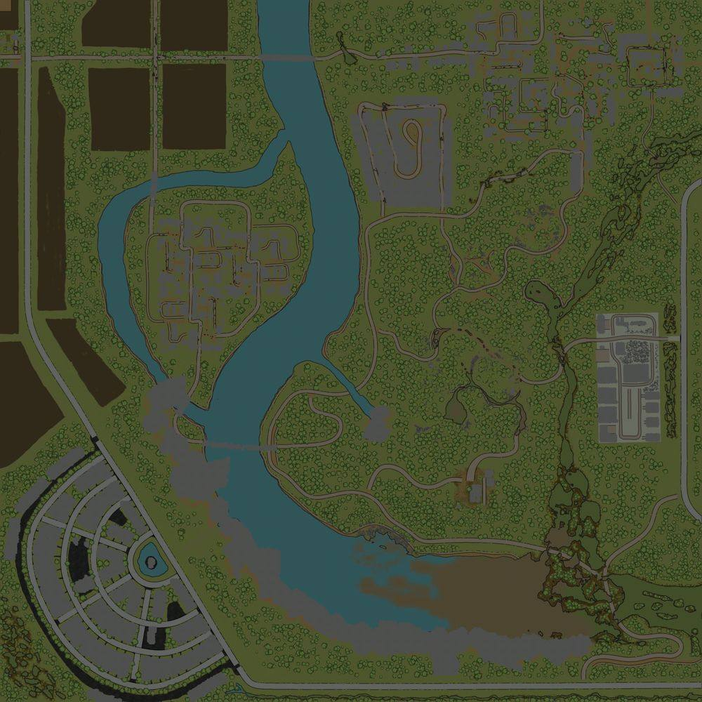 Карта «Expanses of Villages 2»