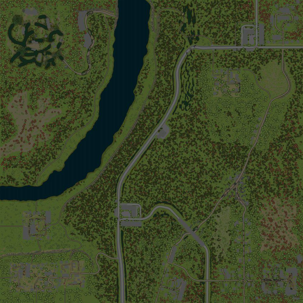 Карта «Maps Просторы Деревень 4. Осень- Лето»