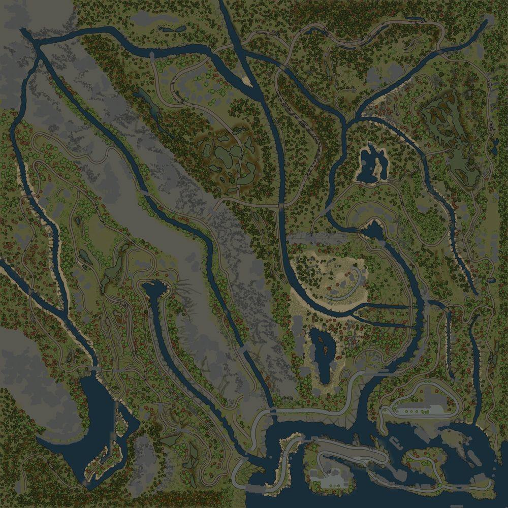 Карта «Фьорды»