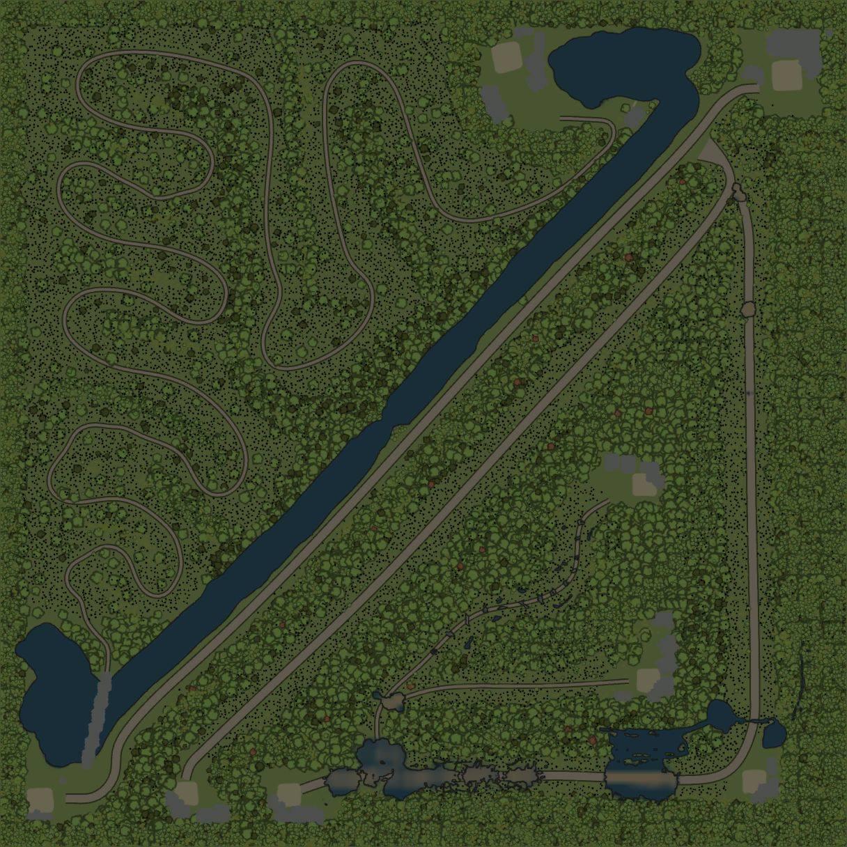 Карта «Гладилово»