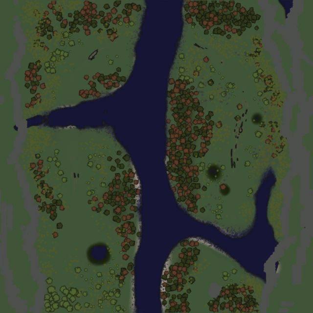 Карта «Гнилое ущелье»