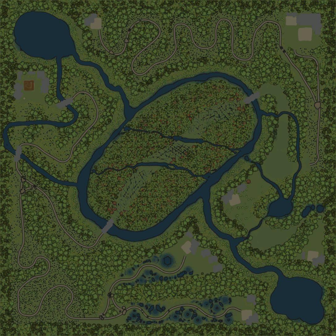 Карта «Грамлёный»