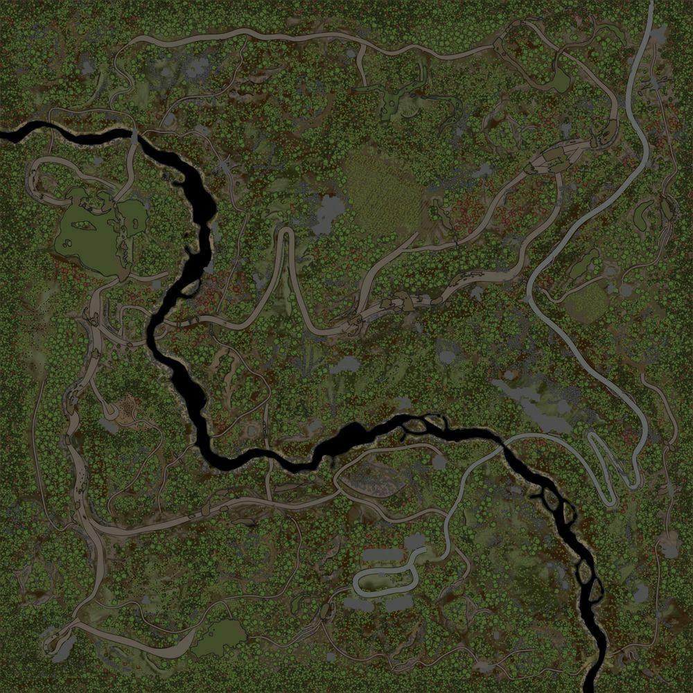 Карта «Maps Hills Remake»