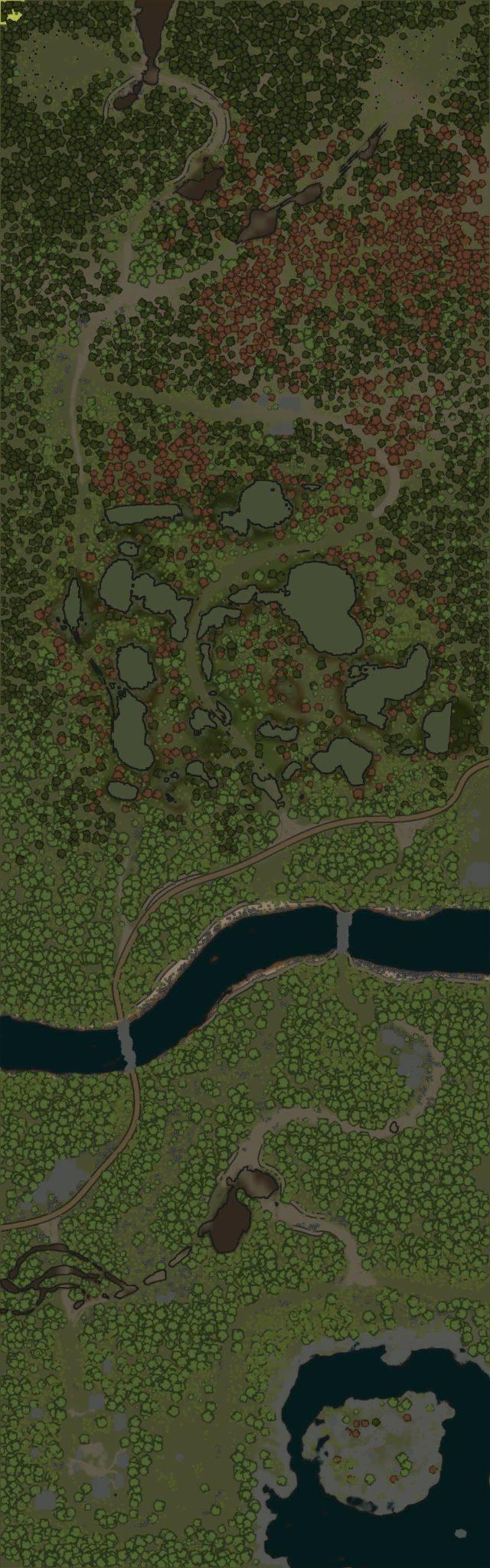 Карта «Старая Ладога»