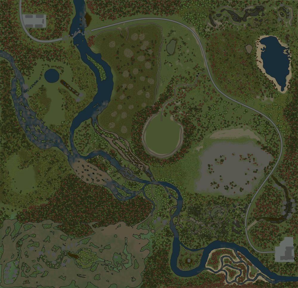 Карта «Затерянная цивилизация 2»