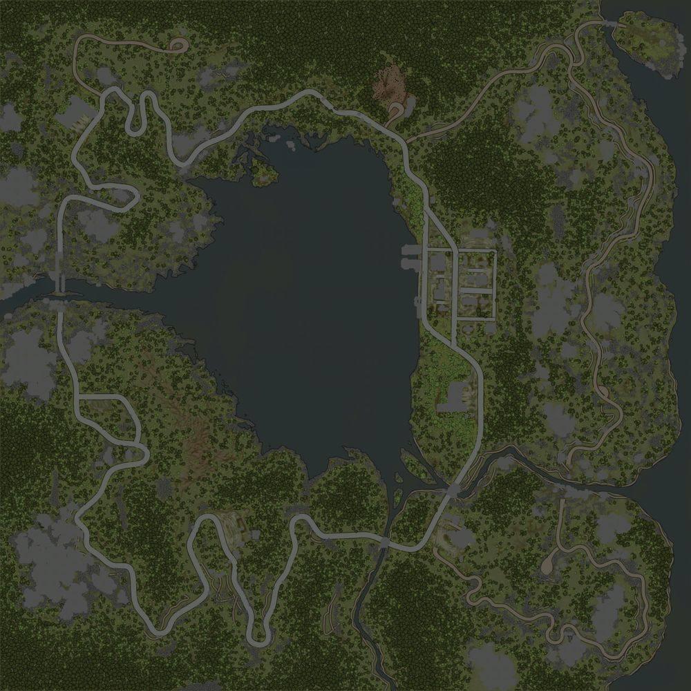 Карта «Скалистые горы»