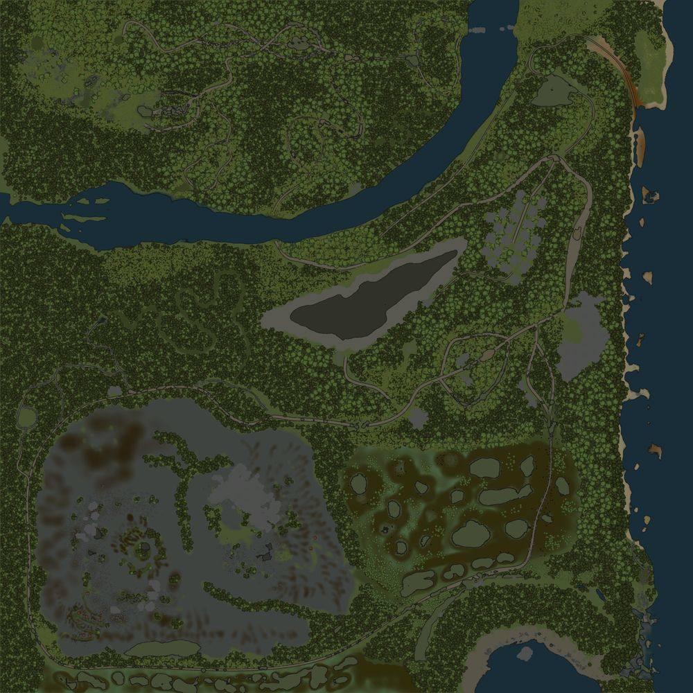 Карта «Таинственная Карелия»