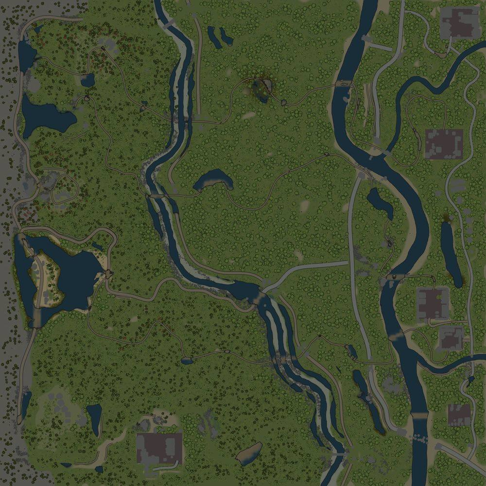 Карта «Пограничная зона»