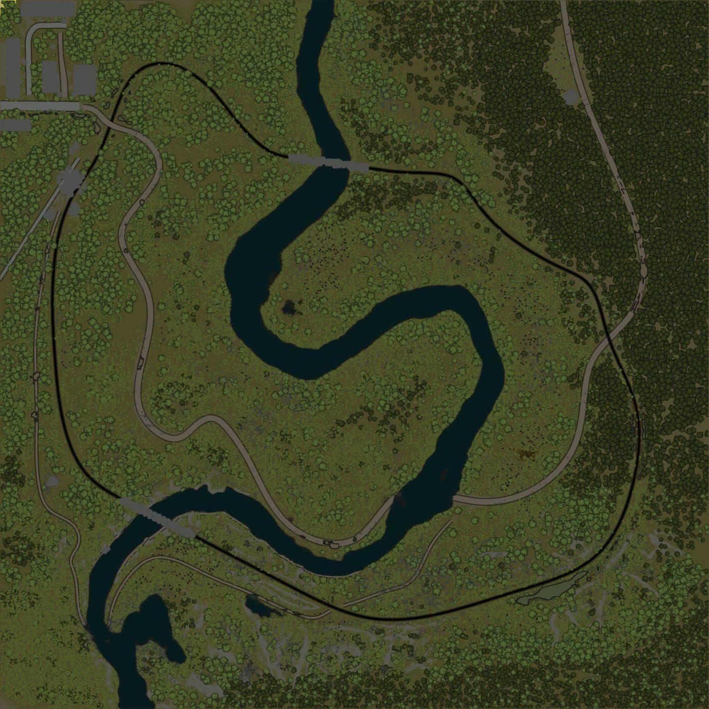 Карта «Reka_704»