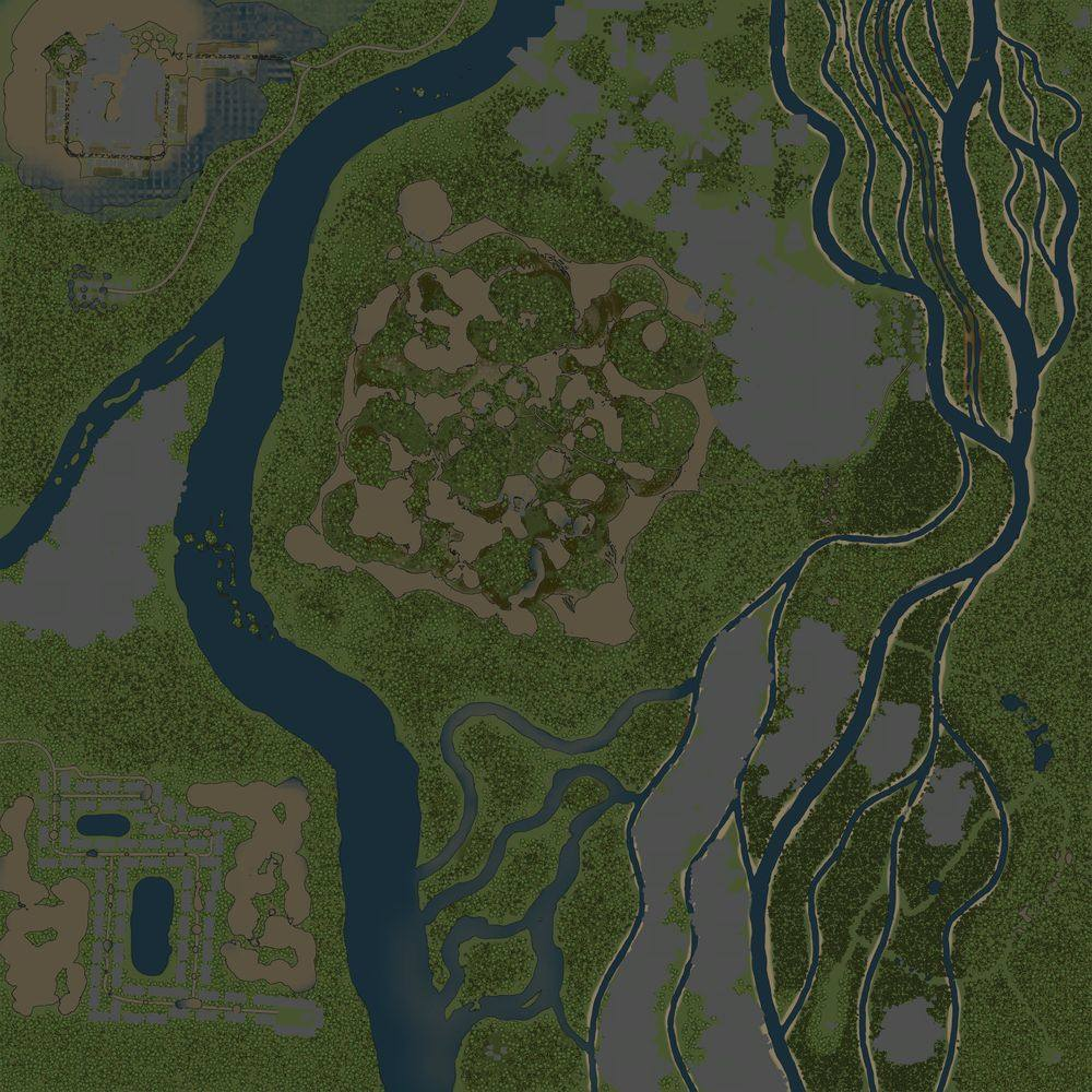 Карта «Речной край 2»