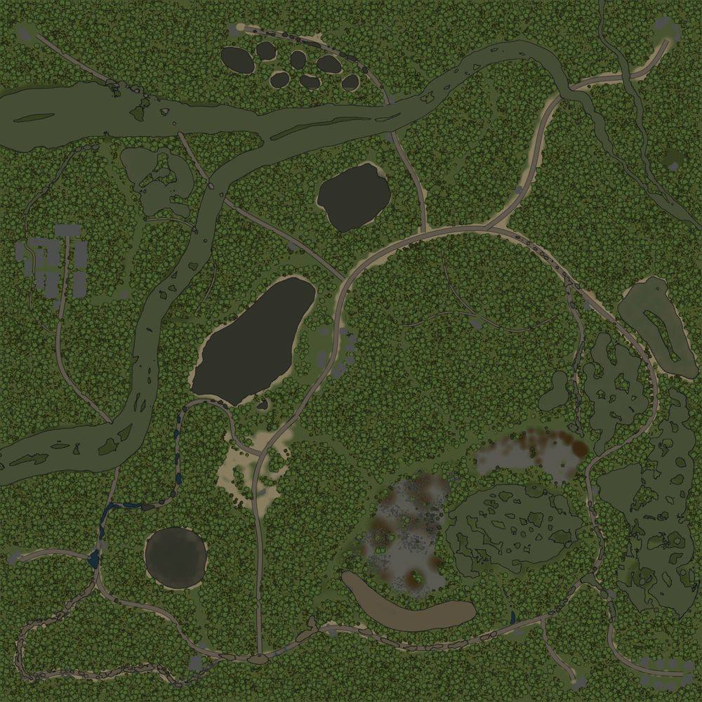 Карта «Блокпосты»