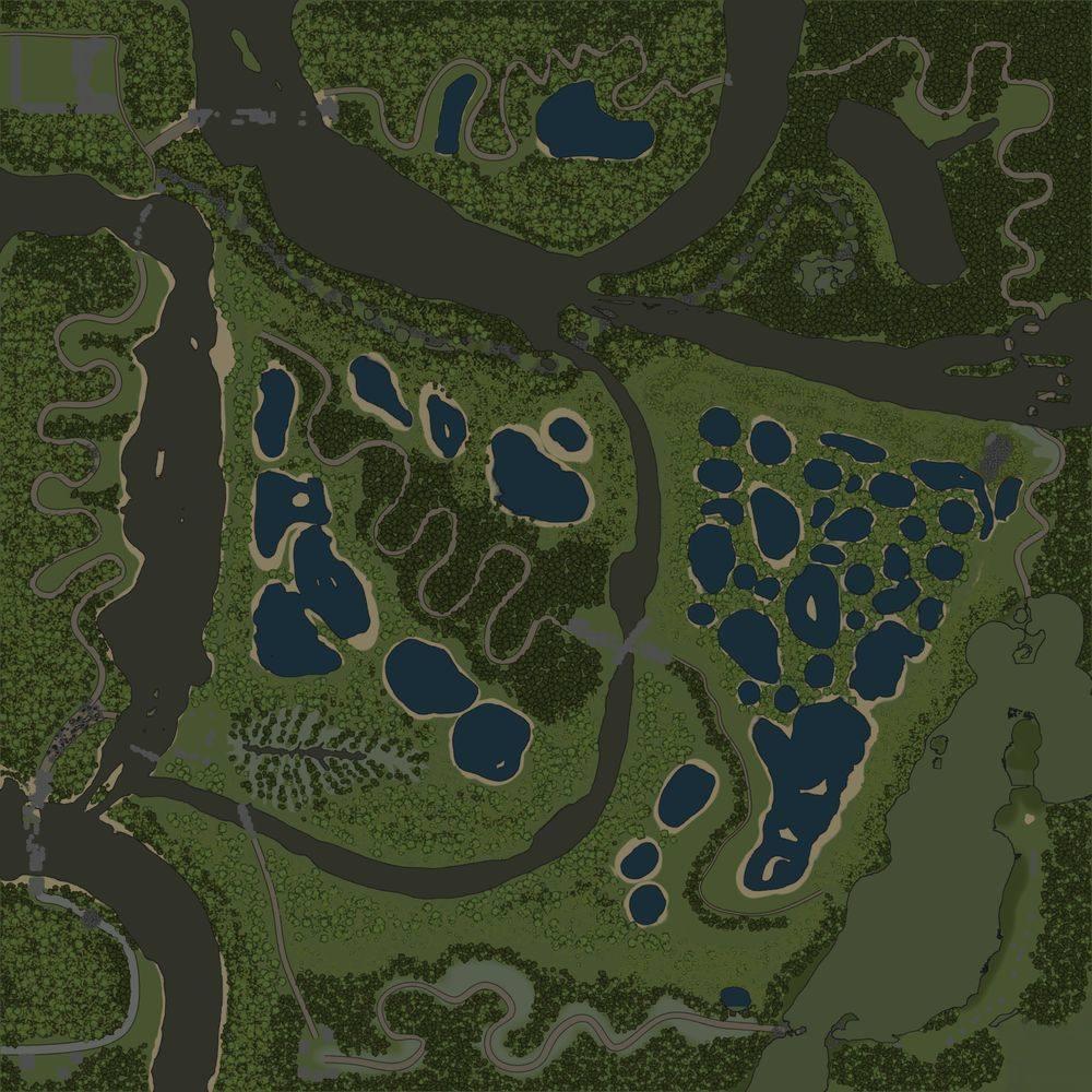Карта «Змеиные дороги 9»