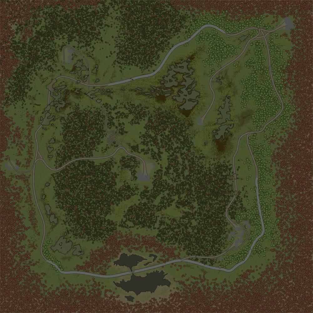 Карта «Торфяник»