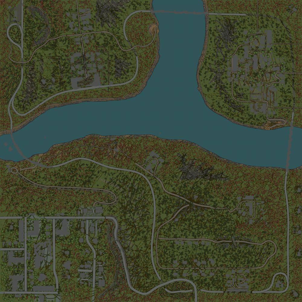 Карта «Транспортная компания ЛесПром»