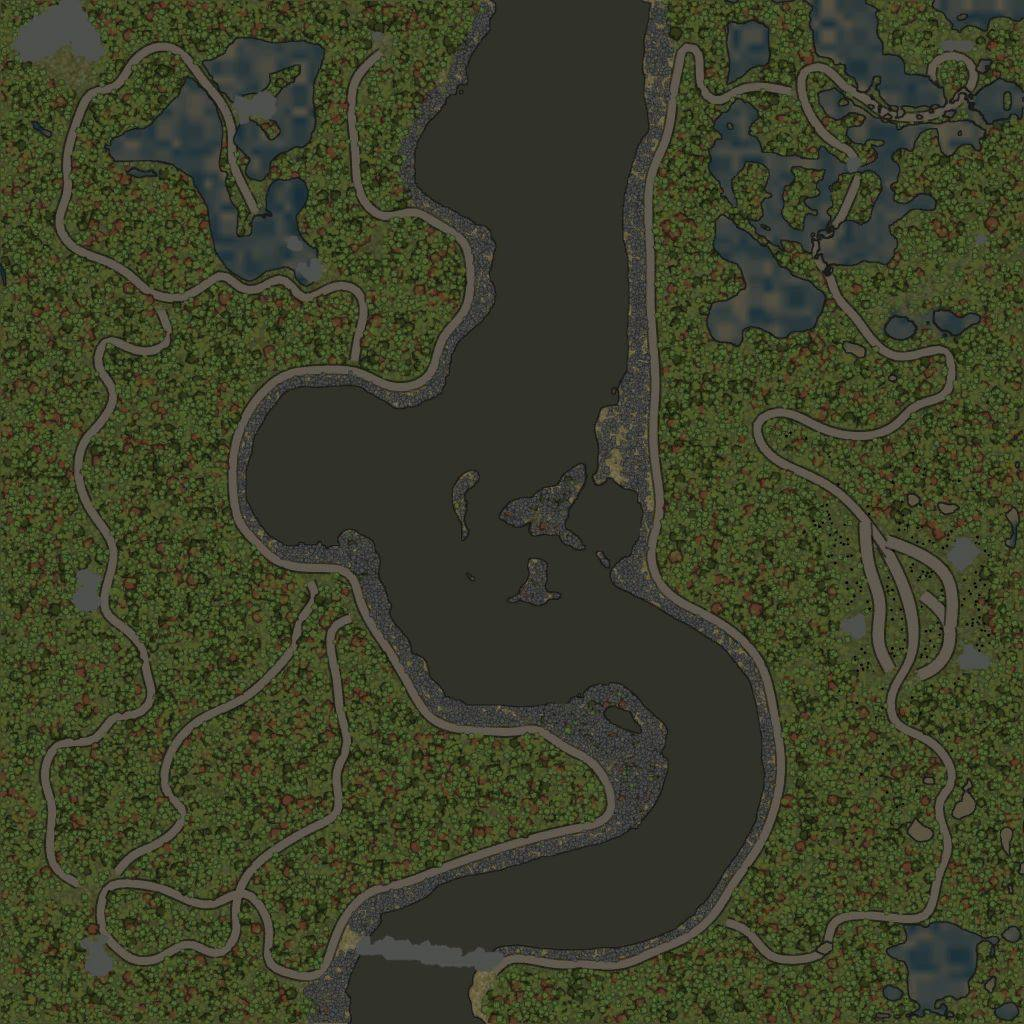 Карта «Maps Level 78 / Two Coast»