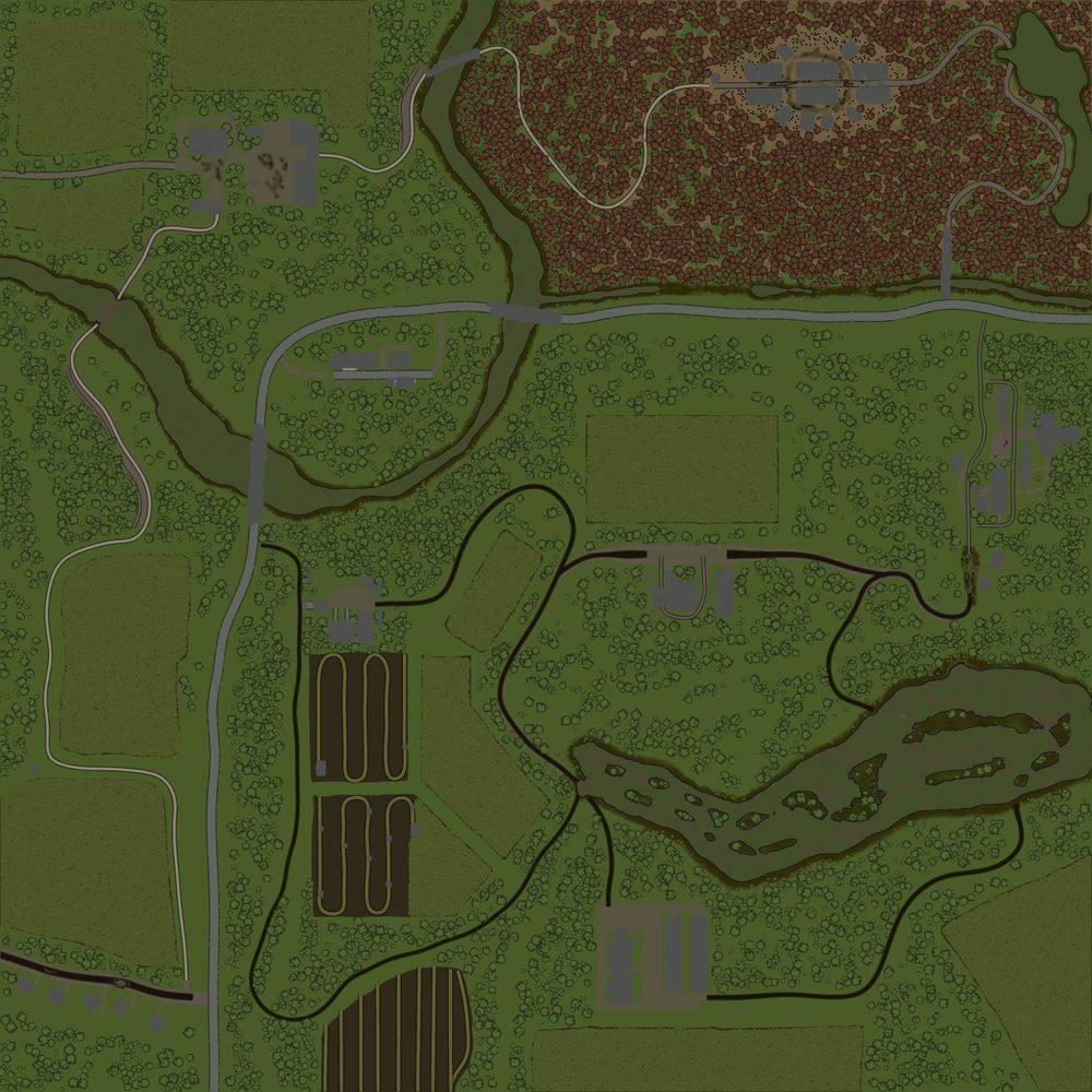 Карта «Будни Тракториста»