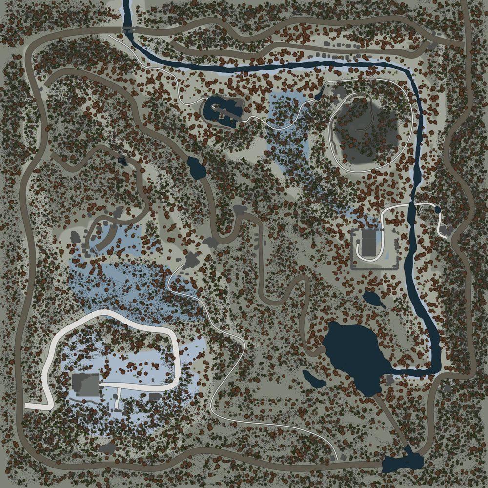 Карта «Занос на дороге»