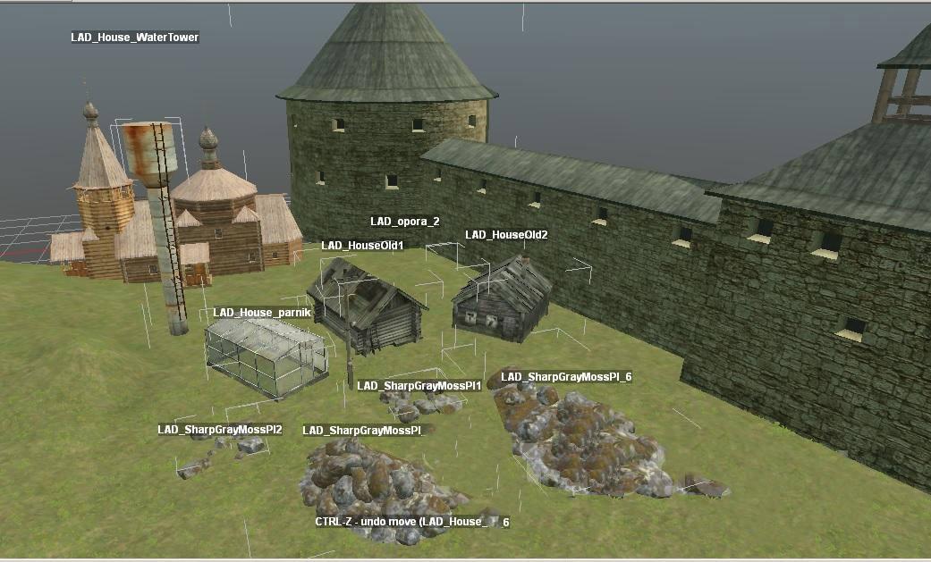 Материал с карты «Старая Ладога»