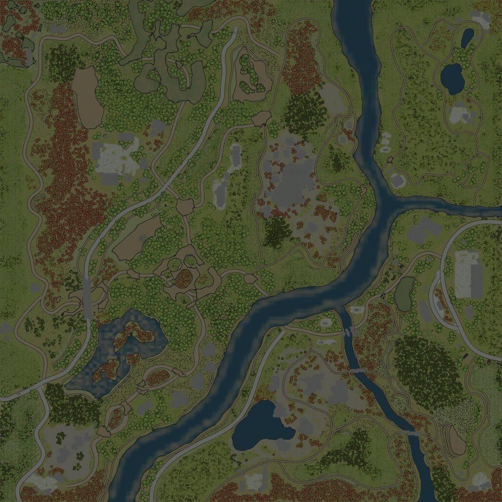 Карта «Затинь»