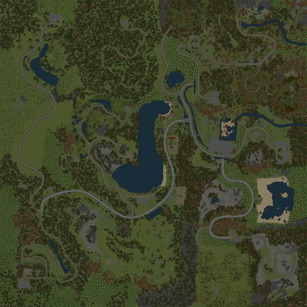 Карта «Suolampi, Suomi Finland»