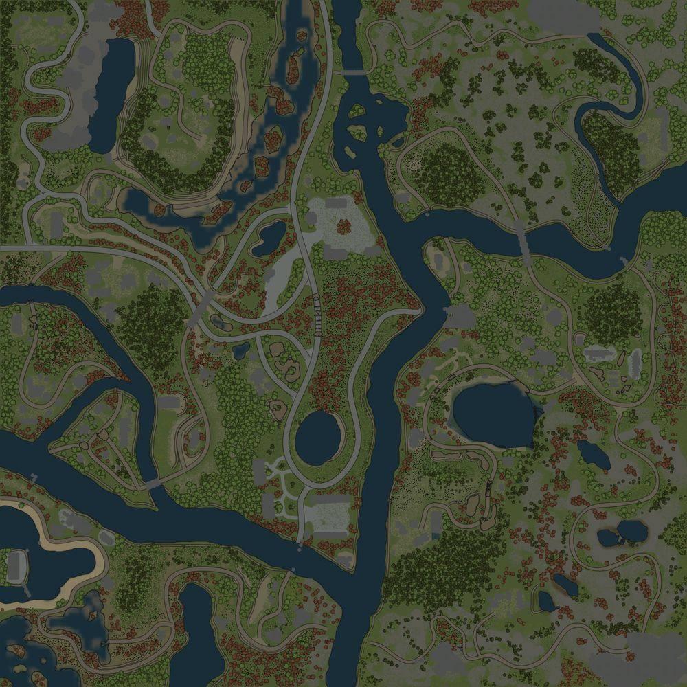 Карта «Монокрай 5»