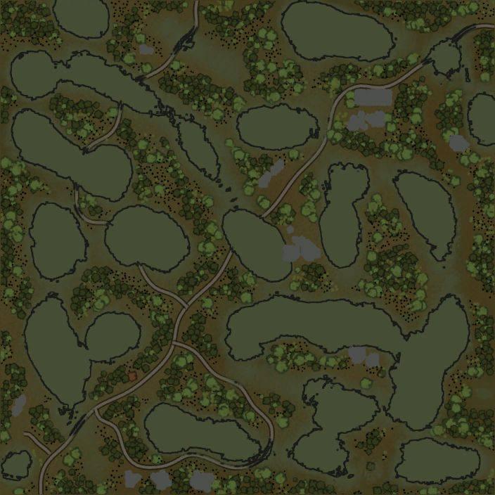 Карта «Болотце»