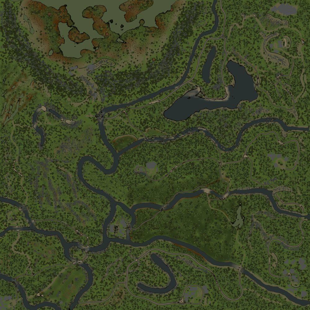 Карта «Зов Природы»