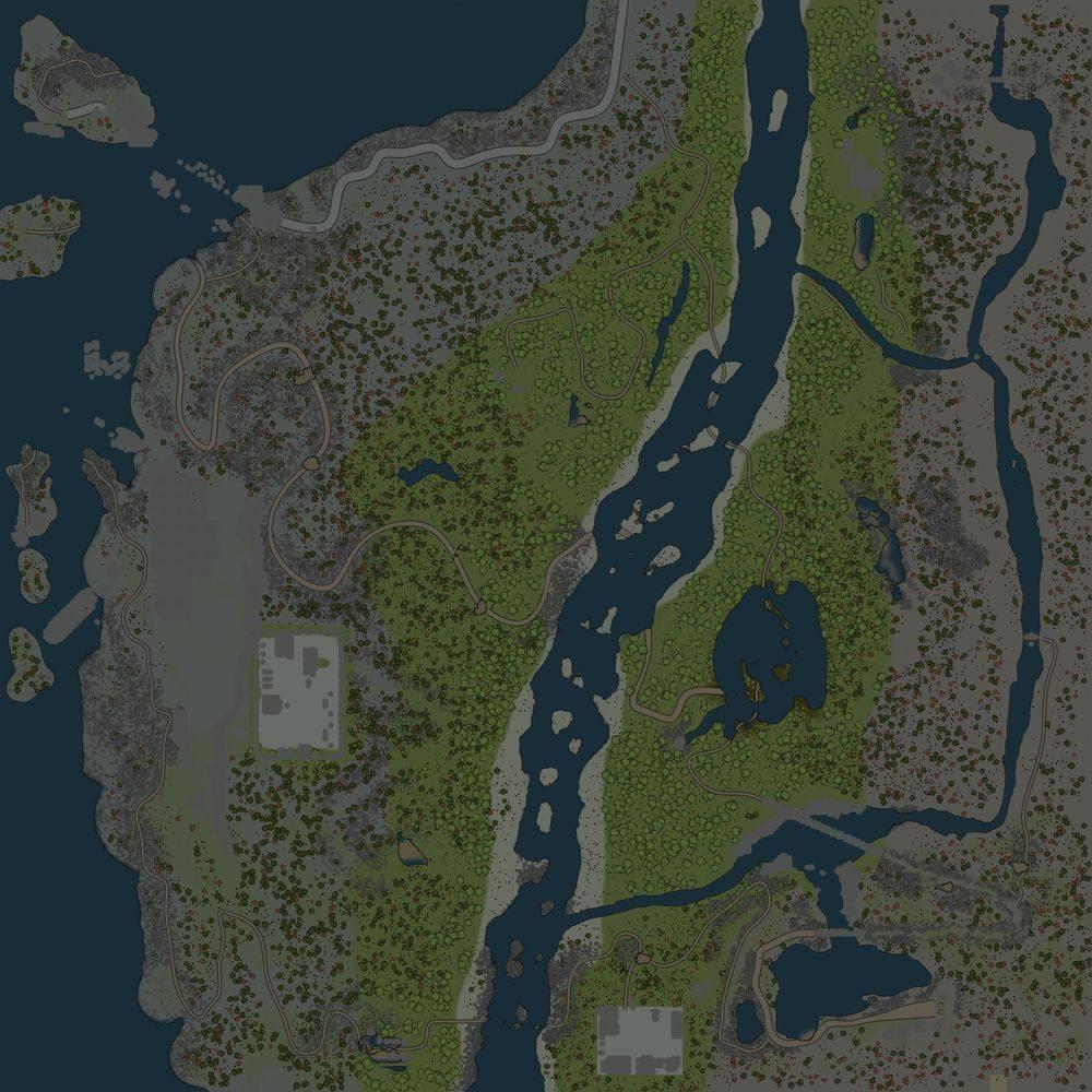 Карта «Береговая зона»