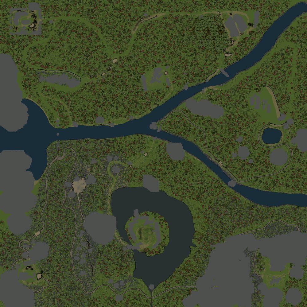 Карта «Долина 2»