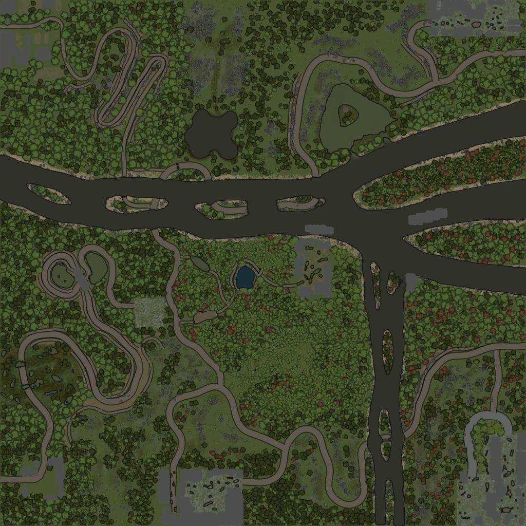 Карта «Лесная вахта 2»