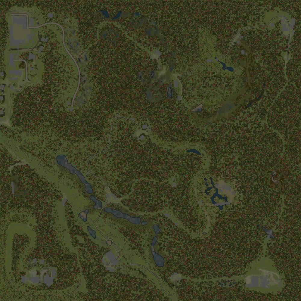 Карта «Просека»