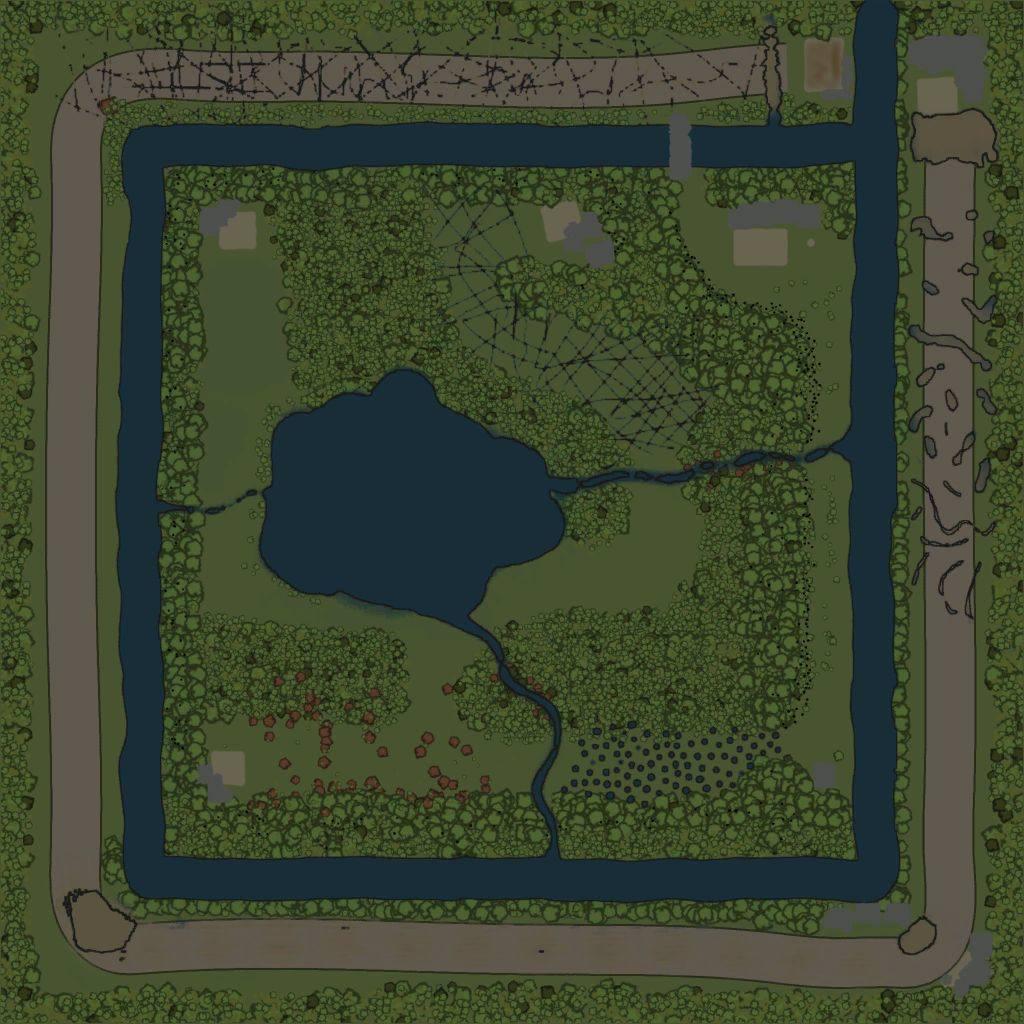 Карта «Пятное»