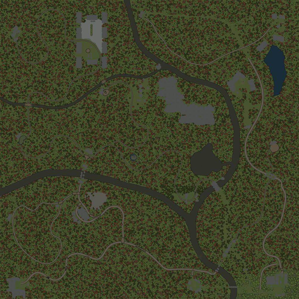 Карта «Зеленстрой»