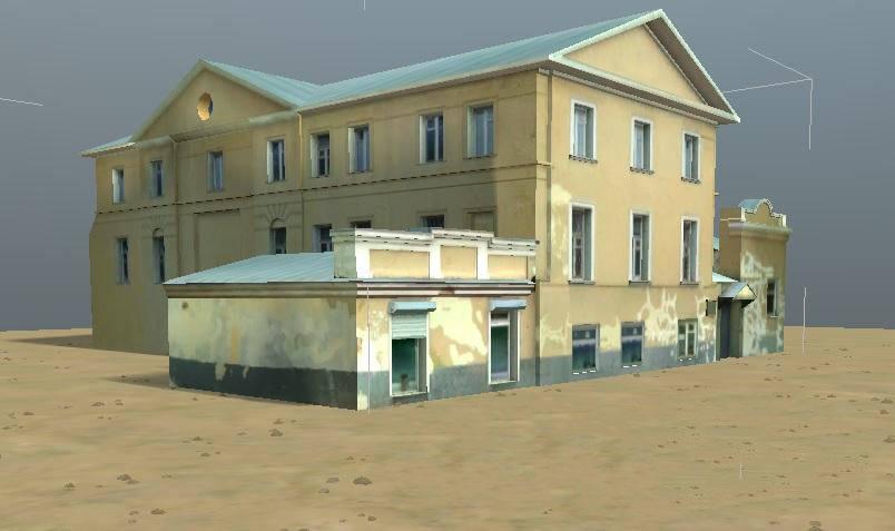 Модели зданий промзоны для редактора