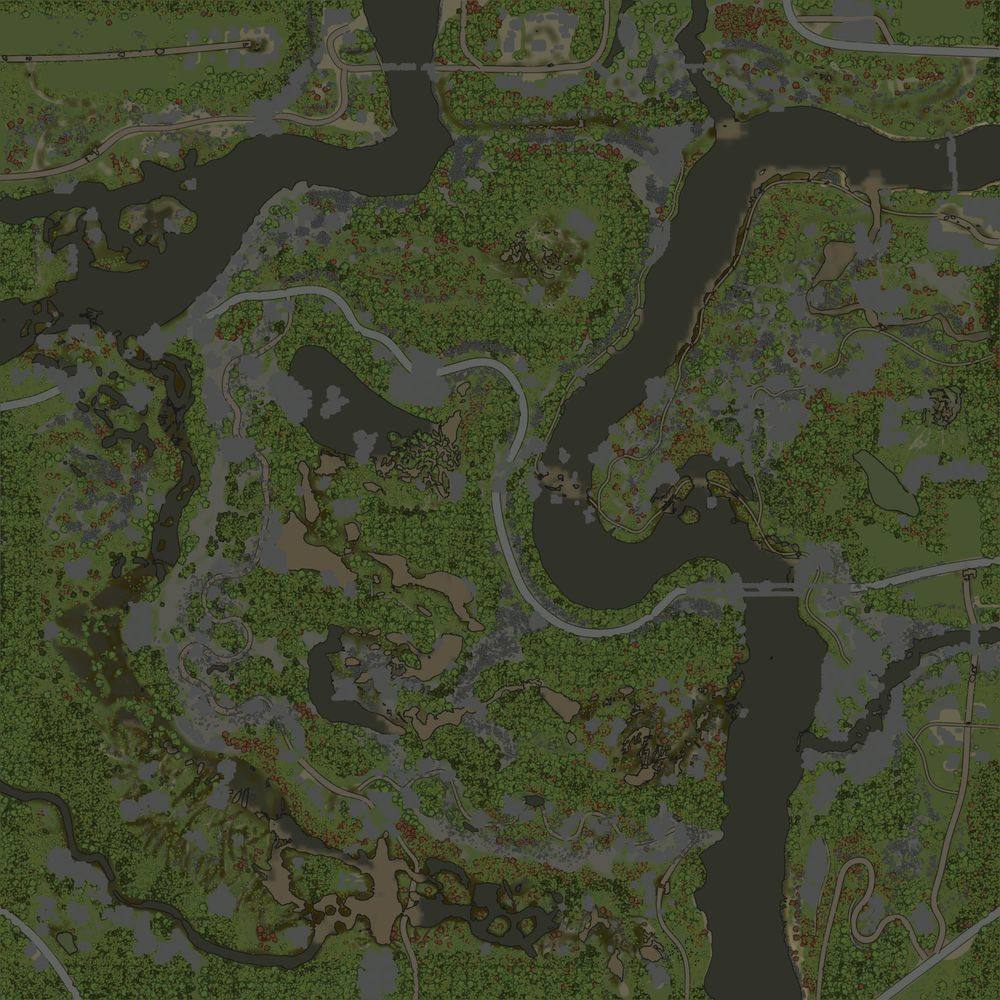 Карта «Квадрат 21»