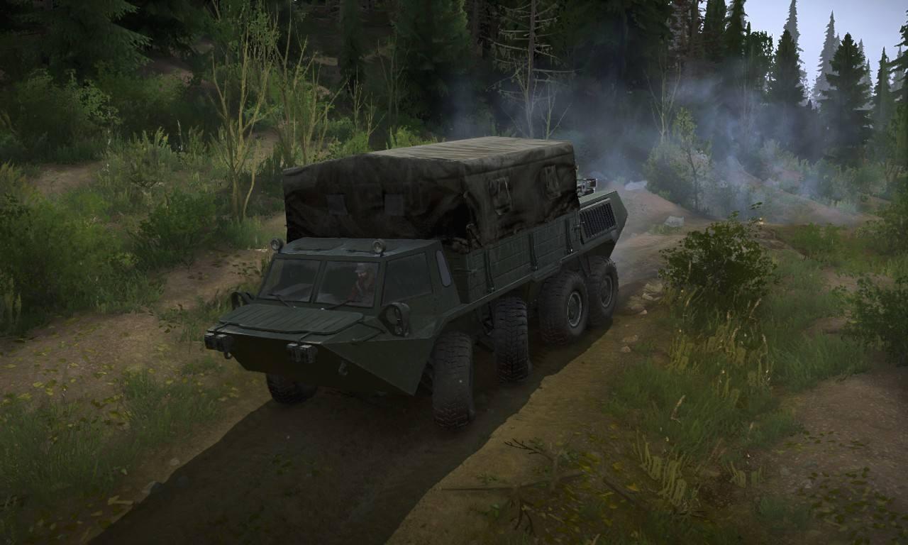 Зеленая военная текстура для ГАЗ-59037