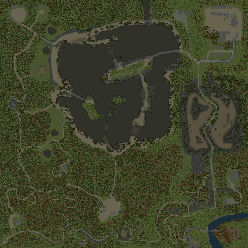 Карта «Sunday Drive Two»