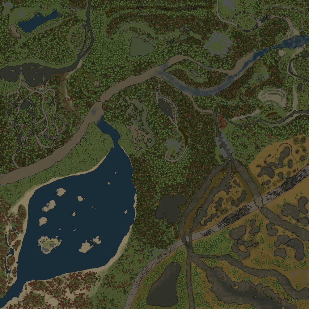 Карта «Ленинградская область»