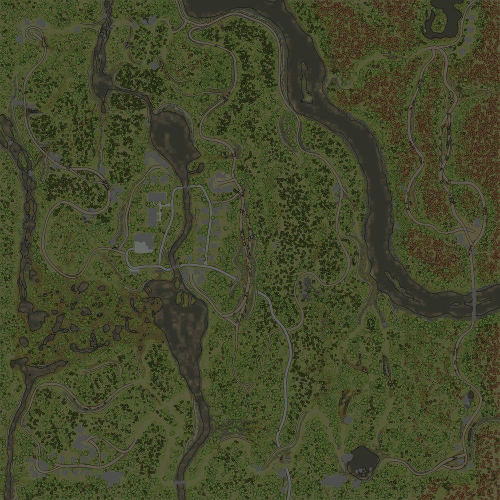 Карта «Лесосбор»