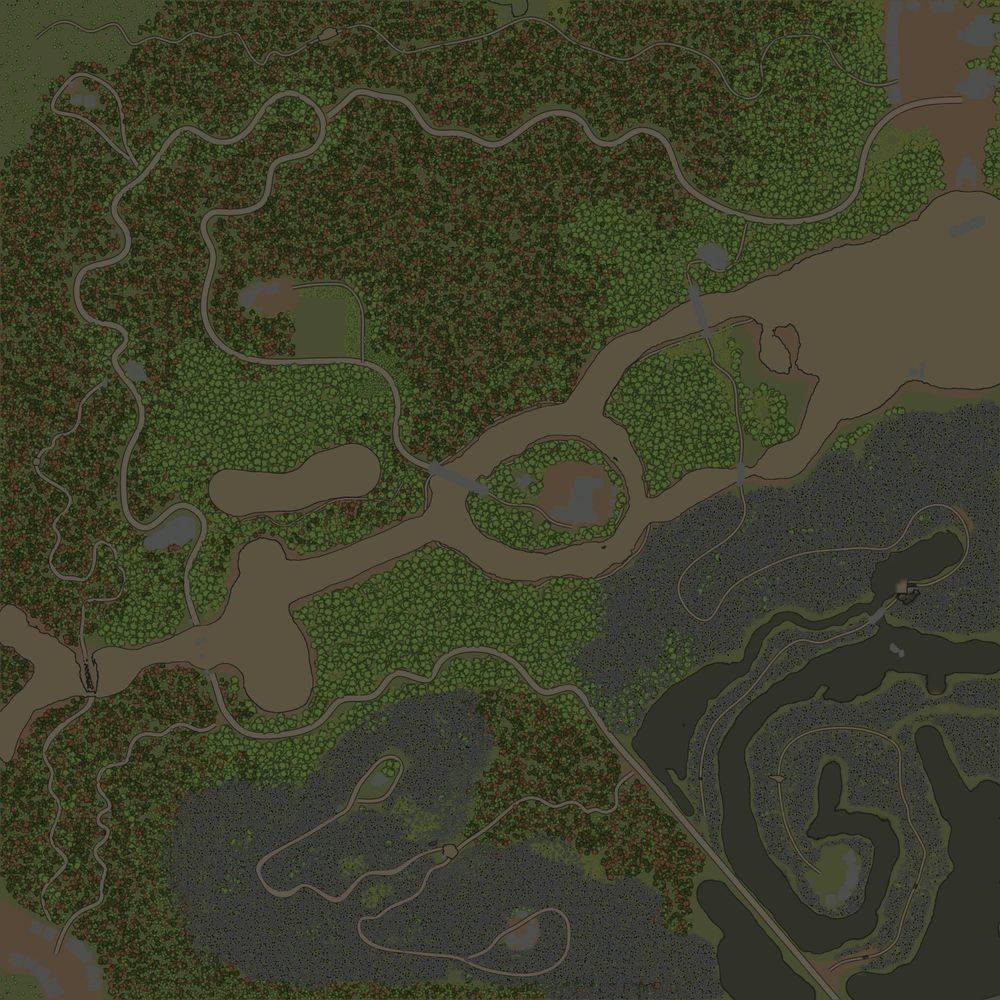 Карта «Logging Run»