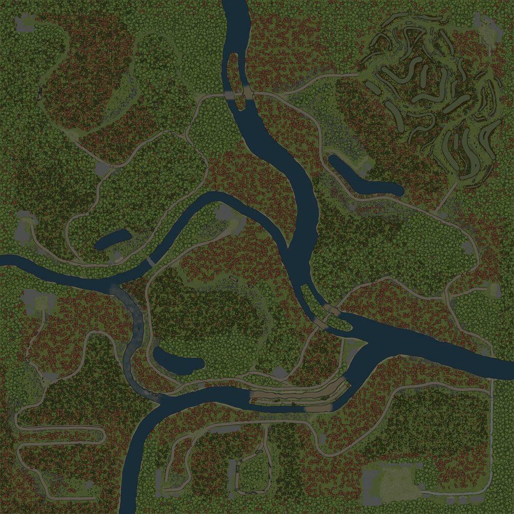 Карта «Ломовка»