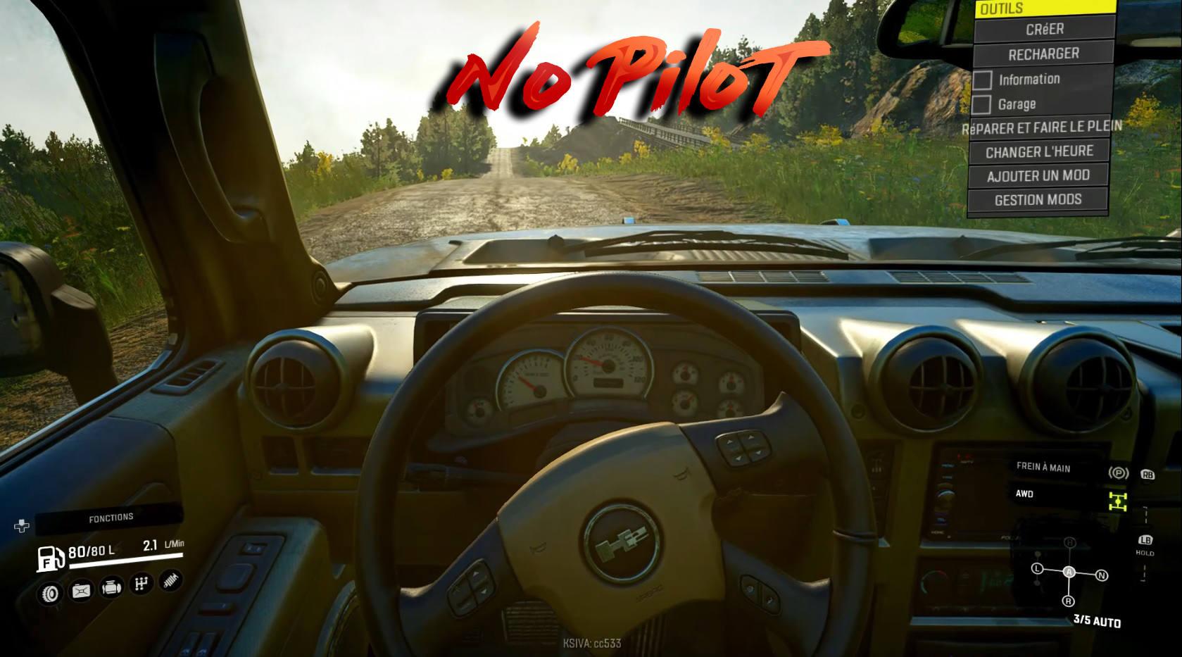 No Pilot / Нет водителя