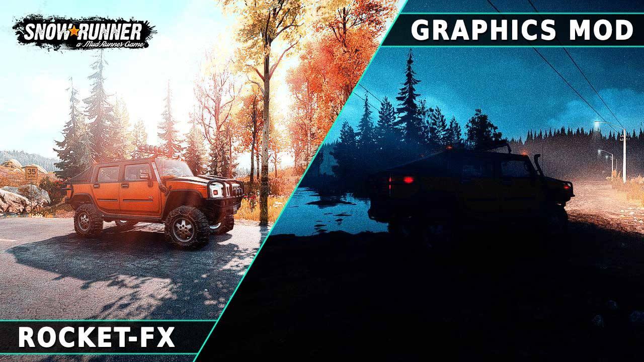RocketFX - Realistic Graphics Mod