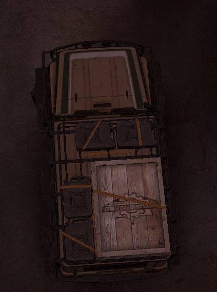 Реалистичный верхний багажник KHAN 39 Marshall