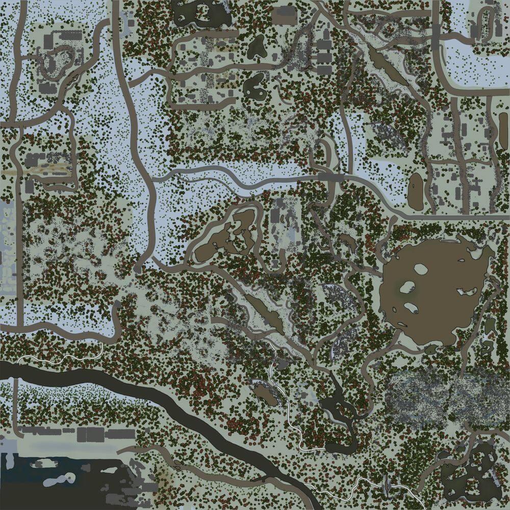 Карта «Полюс холода»
