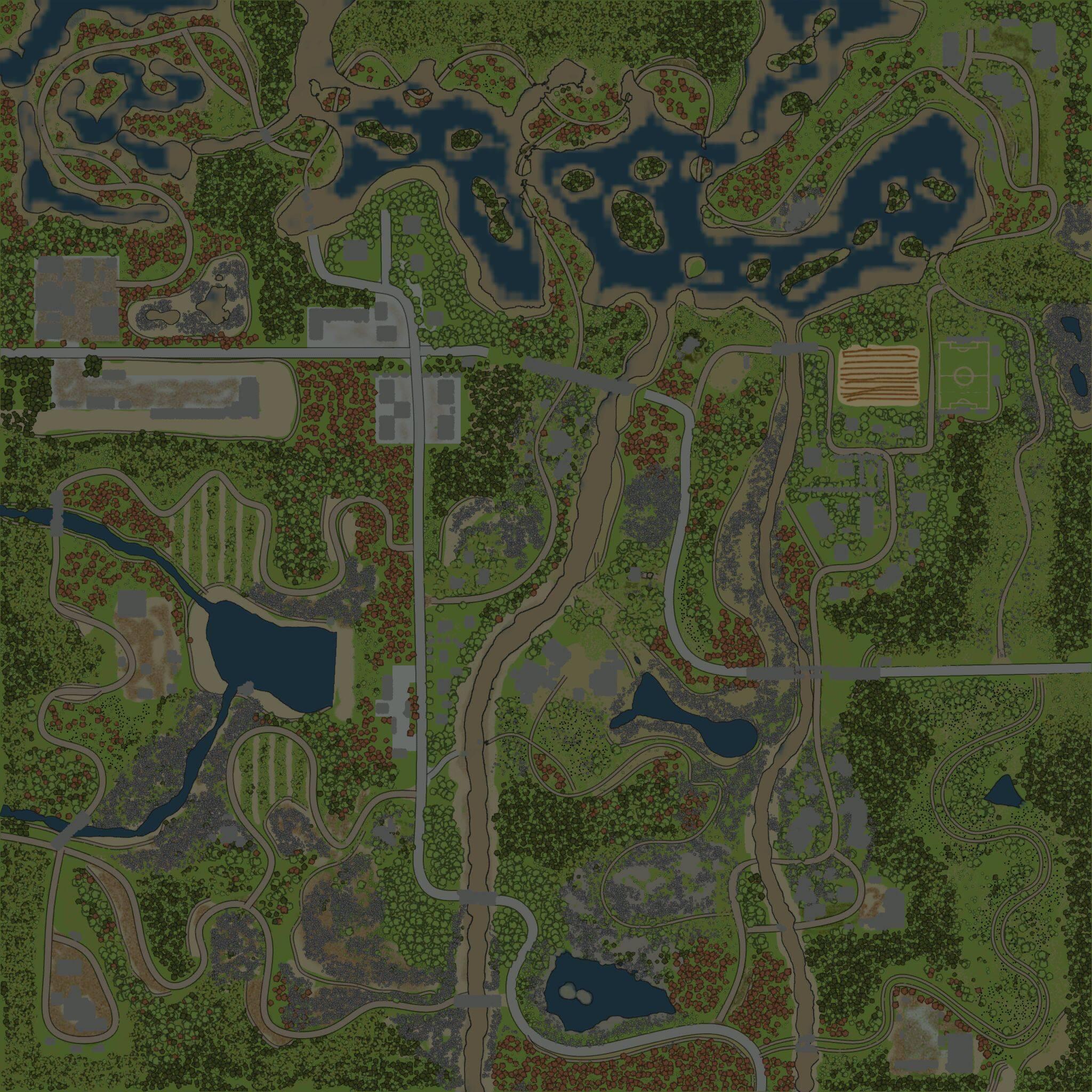 Карта «Монокрай 8»