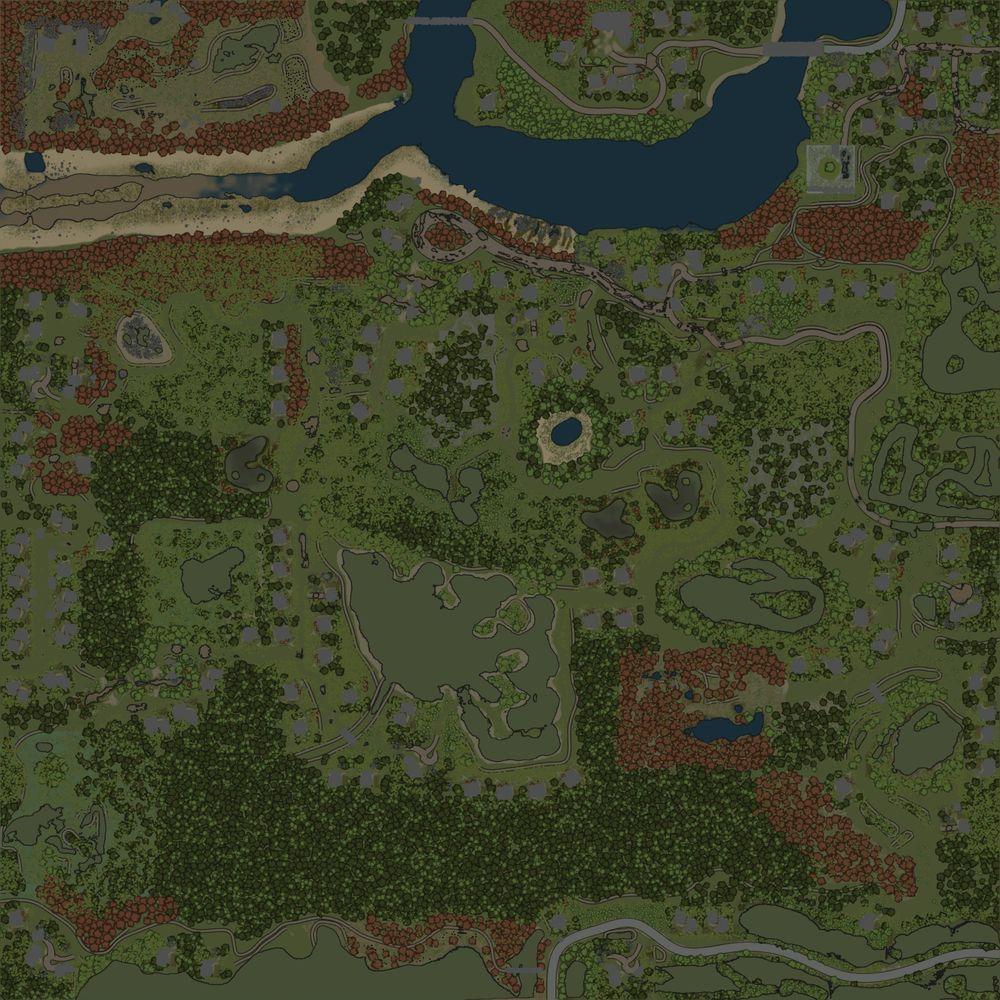 Карта «Староверы 2 - Полный привод»